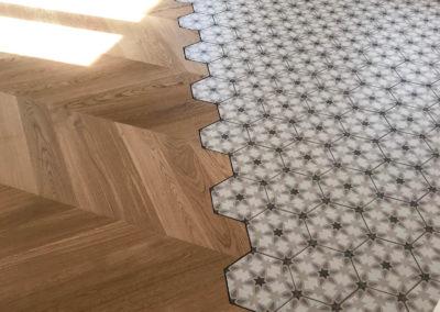Pavimenti interni in legno – Casa privata