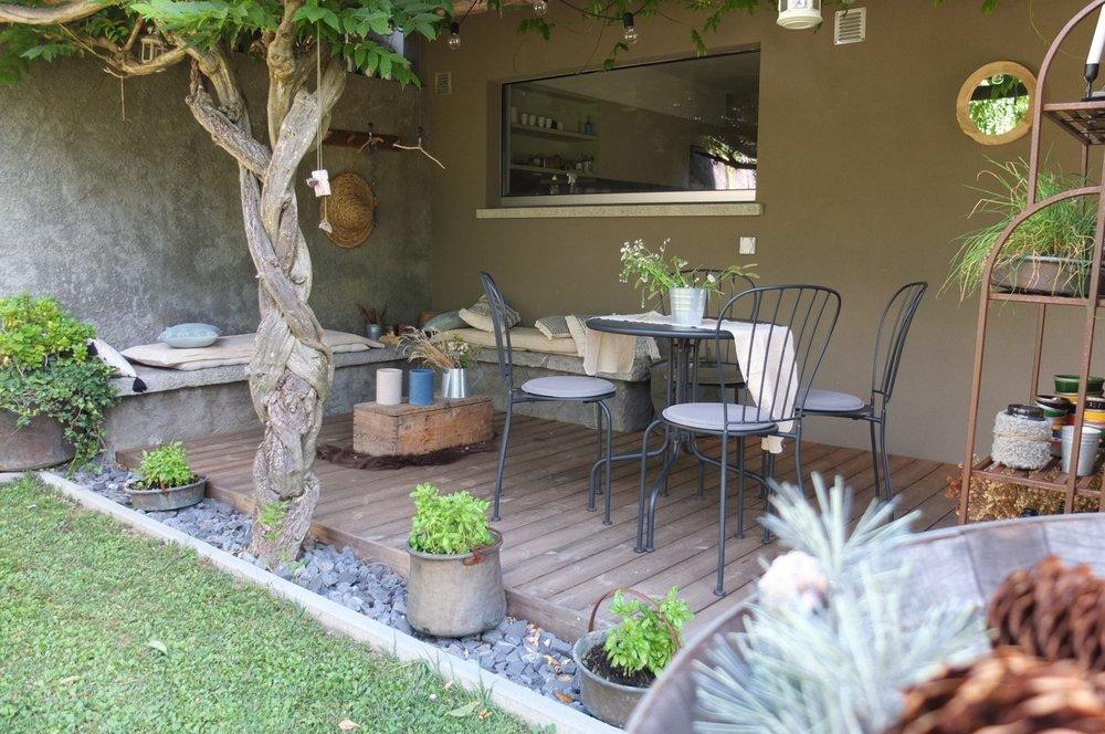 Terrazza in legno naturale – Casa privata